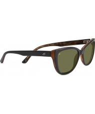Serengeti София блестящий черный поляризованный 555nm солнцезащитные очки