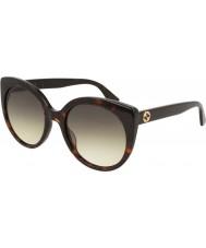 Gucci Женские солнцезащитные очки gg0325s 002 55