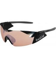 Bolle 6-е чувство блестящий черный модулятор розы пистолет очки
