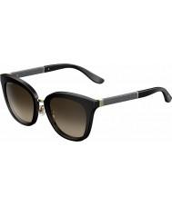Jimmy Choo Дамы Фабри-s FA3 J6 черный сверкающих очки