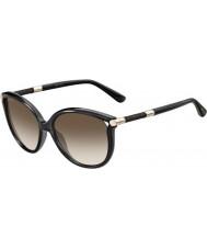 Jimmy Choo Дамы Гиоргий-s qcn темно-серые JD солнцезащитные очки