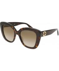 Gucci Женские солнцезащитные очки gg0327s 002 52
