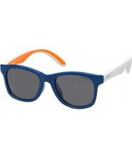 Polaroid Дети pld8001-S T20 y2 голубые поляризованных солнцезащитных очков