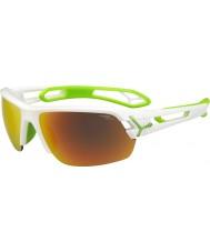 Cebe Белые солнцезащитные очки Cbstm11 s-track