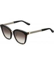 Jimmy Choo Дамы Фабри-S KBE ЯШ Havana сверкающих очки