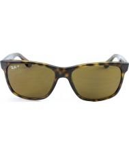 RayBan Rb4181 57 Highstreet свет черепаховый 710-83 поляризованных солнцезащитных очков