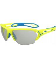 Cebe S-трек большие про неон желтый variochrom PERFO солнцезащитные очки