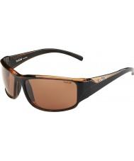 Bolle 12116 коричневые солнцезащитные очки с келем
