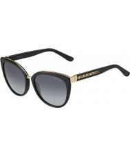 Jimmy Choo Дамы Dana-s 10e HD черные очки