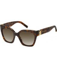 Marc Jacobs Женские марки 182-х солнцезащитные очки 086 га