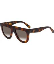 Celine Дамы кл 41398-S 05L z3 Havana очки