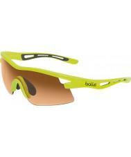 Bolle Vortex неоновый желтый модулятор очки янтарные