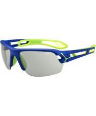 Cebe S-трек среднего темно-синий зеленый variochrom PERFO очки