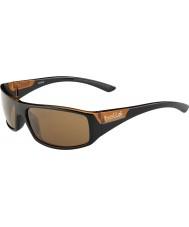 Bolle 12138 тканые коричневые солнцезащитные очки