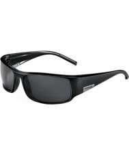 Bolle Король блестящий черный поляризованный ТНС солнцезащитные очки
