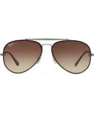 RayBan Rb3584n 61 00413 летные солнцезащитные очки
