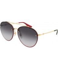 Gucci Женские солнцезащитные очки gg0351s 001 62