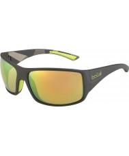 Bolle 12132 черные солнцезащитные очки tigersnake
