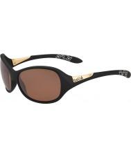 Bolle Грейс матовый черный поляризованный песчаника пистолет солнцезащитные очки