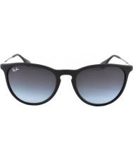 RayBan Rb4171 54 Erika черная резина 622-8g очки