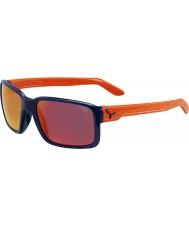 Cebe Чувак блестящий синий оранжевый очки