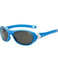 Cebe Крикет (возраст 3-5) матовый белый голубых 1500 серо-голубой свет солнцезащитные очки