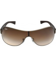 RayBan Rb3471 32 юнец матовые Gunmetal 029-13 солнцезащитные очки