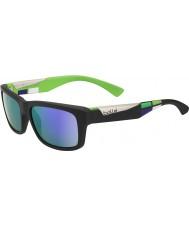 Bolle Jude матовый черный сине-фиолетовые солнцезащитные очки