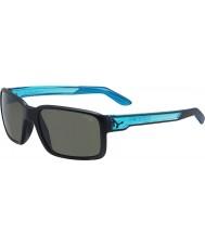 Cebe Чувак матовый черный кристалл синий солнцезащитные очки