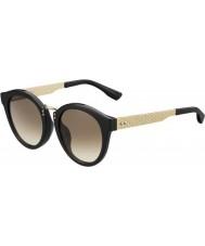 Jimmy Choo Женская Pepy-S QFE черная роза юлианский день золотые солнечные очки