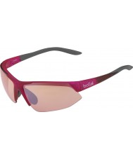 Bolle Breakaway блестящий розовый серый модулятор розы пистолет очки