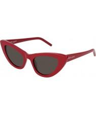 Saint Laurent Женские солнцезащитные очки slies 213 lily 004 52