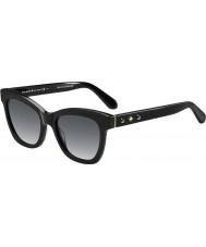 Kate Spade New York Дамы Крисси-s 807 f8 черные очки