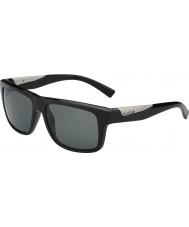 Bolle Клинт блестящий черный поляризованный ТНС солнцезащитные очки