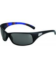 Bolle Отдача матовые синие полосы модулятор поляризованный серый очки
