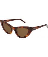 Saint Laurent Женские солнцезащитные очки sl 213 lily 006 52