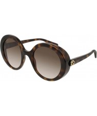 Gucci Женские солнцезащитные очки gg0367s 002 53