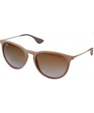 RayBan Rb4171 54 Erika темный резиновый песок 600068 солнцезащитные очки
