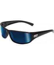 Bolle Python черные поляризованные очки синие морские