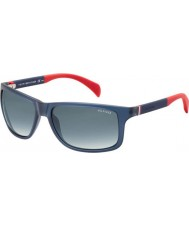 Tommy Hilfiger Th 1257-s 4nk JJ голубые красные очки