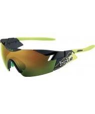 Bolle 6-е чувство матовый дым зеленый коричневый солнцезащитные очки изумруд