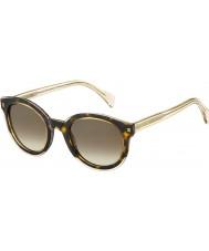Tommy Hilfiger Дамы-й 1437-S ky1 j6 желтый Havana бежевых солнцезащитные очки