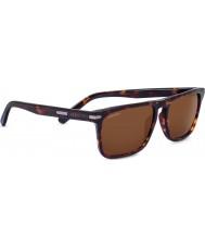 Serengeti Карло темные очки Havana водителей